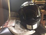 Shoei RF-1200 Matte Black Flagger (Medium)