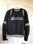 Icon Overlord jacket - Size Small