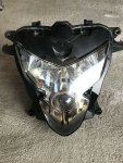 04 05 GSXR 750 600 headlight unit