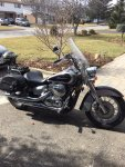 2008 Honda Shadow Aéro 750