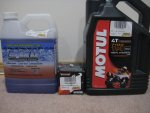 Engine Ice Hi-Performance Coolant - K&N Oil Filter - Motul 4T 7100 10W40 (1).JPG