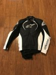 ALPINESTAR Jaw perforated leather jacket