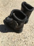 TCX motorcycle touring boots - size 41