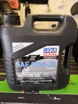 Free - Liquid Molly 4T 10W-30 synthetic oil. Partial bottle